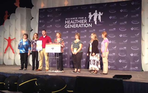 DCPS staff travels to Washington D.C. to receive wellness award