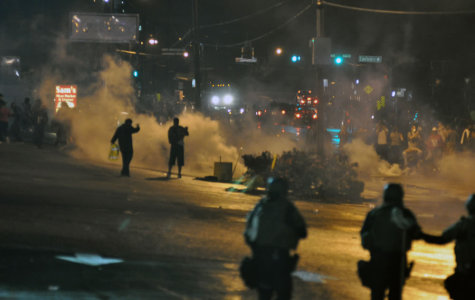 Column:  Ferguson protesters riot to make point, but violence should not be the answer
