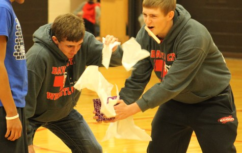 Booster Club starts winter athletics tradition