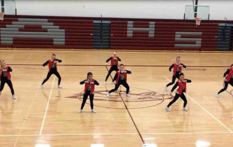Platinum Dancers participate in competition, take third