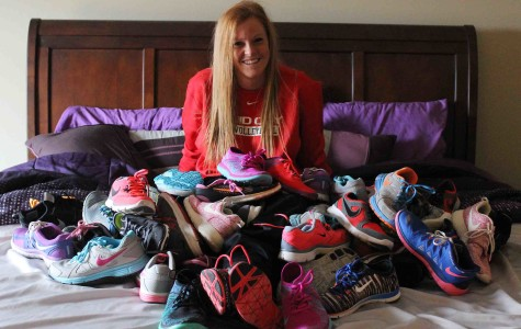 All these shoes, 43 pairs still aren't enough