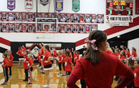 Spirit squads host annual cheer, dance camp for elementary students