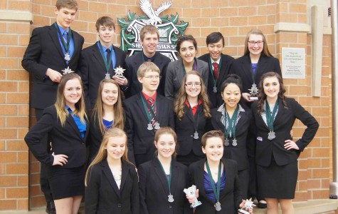 Speech season half over, competitors prepare for State