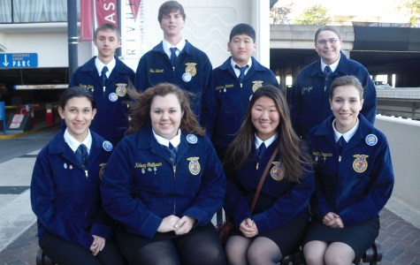 David City FFA members travel to National Convention