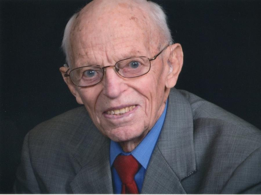 +A+recent+picture+of+Harold+Heins.+At+age+99%2C+Harold+holds+the+position+of+being+the+oldest+living+alumnus+of+DCHS.