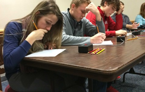 DCHS math students participate in event devoted to math, competition, college experience