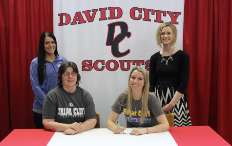 Jane M. signs with Briar Cliff University, begins preparation for collegiate cheer