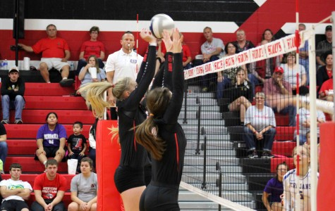 Volleyball gives all on court, loses against Tri County