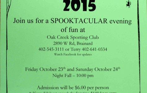 Haunted trail raises money for cancer