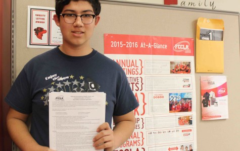 FCCLA member sets his sights high