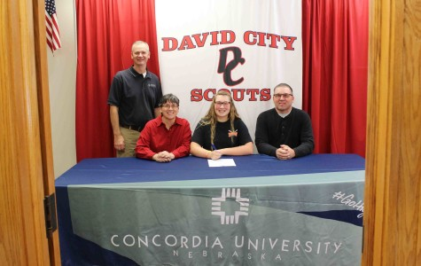 Senior Sabra Moore signs letter of intent to Concordia trap, skeet team