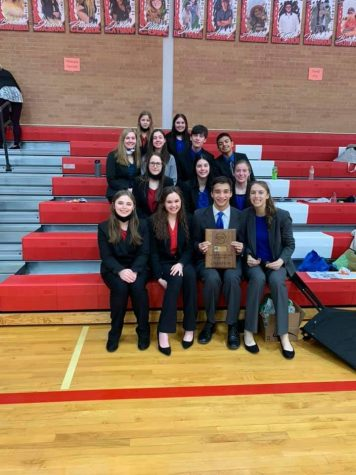 The 2021 Southern Nebraska Conference Speech Champion Team